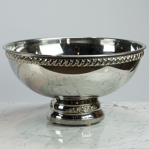 Large Stainless Punch Bowl