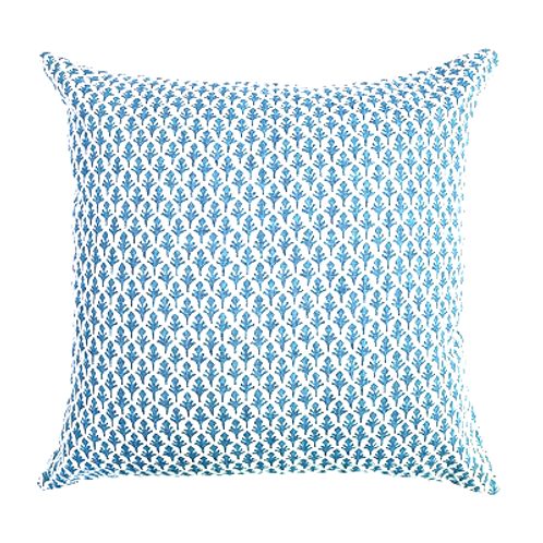Gentry Blue Pillow