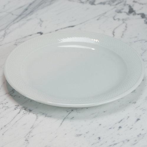 Premium Basketweave Service Plate