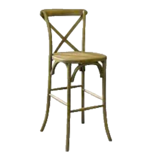 Driftwood Bentwood Barstool