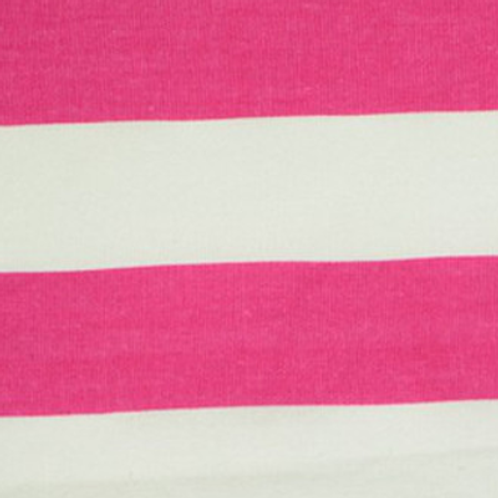 Hot Pink & White