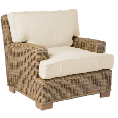 Palmetto Rattan Lounge Chair
