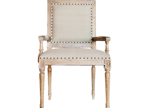 Amelia Square Back Armchair
