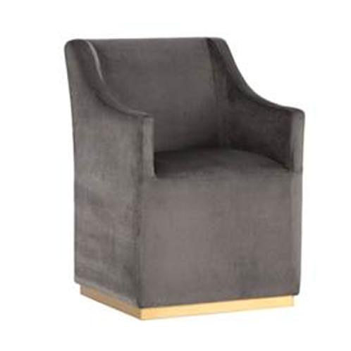 Zane Wheeled Lounge Chair