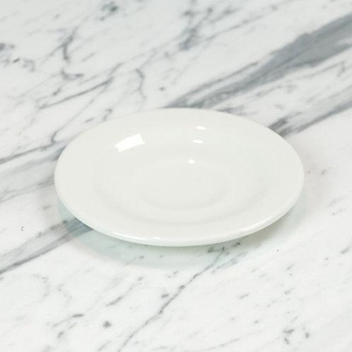 Standard White Espresso/Demitasse Saucer