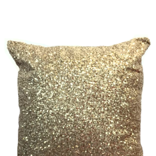 Sequin Gold with Walnut Back