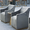 Thumbnail: Zane Wheeled Lounge Chair