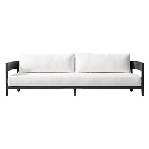 Paloma Black Lounge Sofa