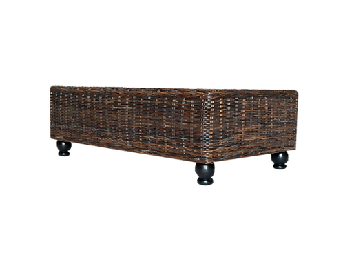 Amava Rattan Ottoman/Coffee Table