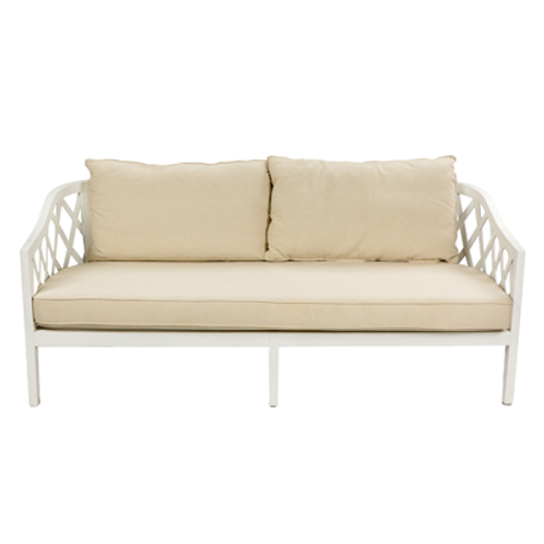 White Regency Lounge Sofa