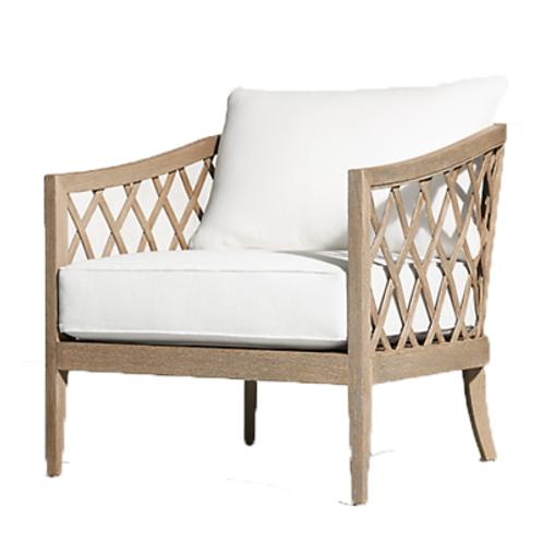 Teak Regency Lounge Chair