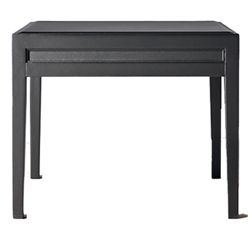 Black Regency Side Table