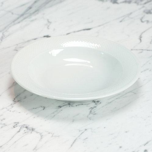 Premium Basketweave Soup Bowl