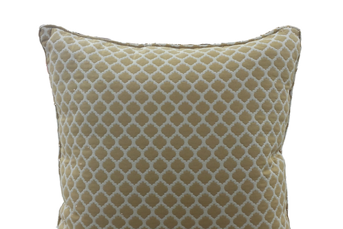 Mosaic Saffron with Pearl Pillow