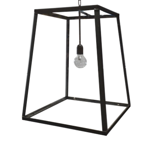 Savannah Iron & Glass Pendant