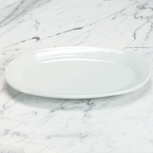 Premium Basketweave Small Platter