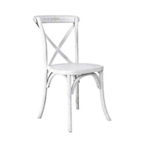 Whitewash Bentwood Chair