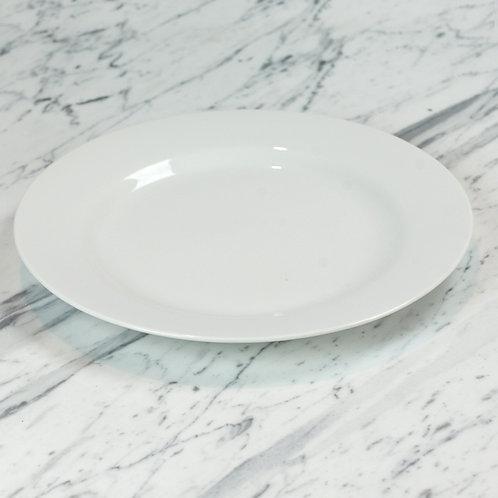 Standard White Service Plate