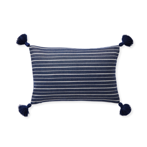 Sail Stripe Lumbar Pillow