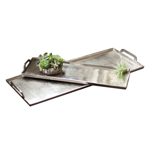 Antique Silver Tray, Large