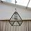 Thumbnail: Atrium Metal & Glass Chandelier