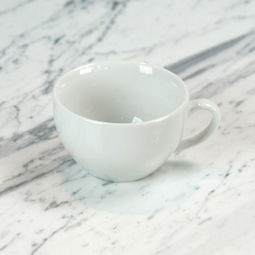 Standard White Large Coffee Cup