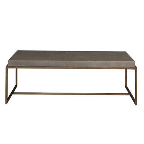 Shagreen Rectangular Coffee Table