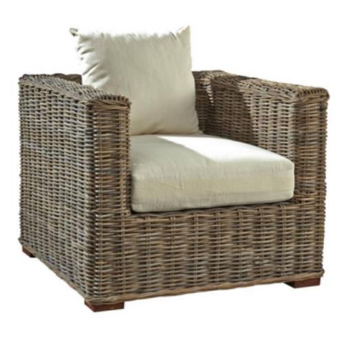 Rattan Club Chair
