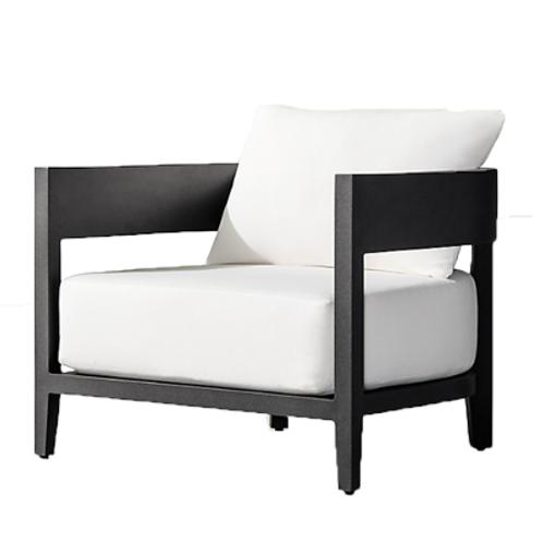 Paloma Black Lounge Chair