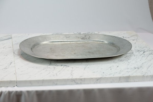 Pewter Oval Platter