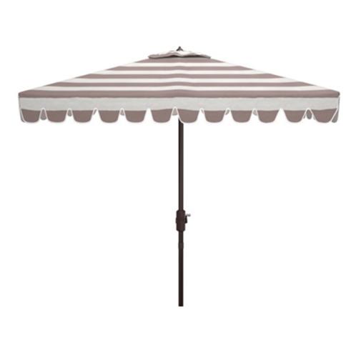 Gray Vienna Market Umbrella