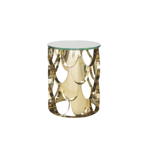 Rio Gold Side Table