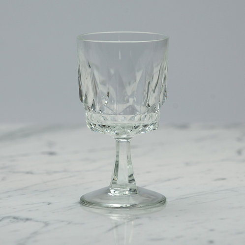 Cut Glass Dessert Wine Glass