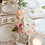 Thumbnail: Ivory with Double Gold Band Dinner Plate