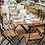 Thumbnail: Champagne Collection Large Folding Table