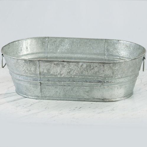 Oval Galvanized Tub