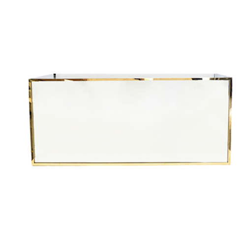 Leah Gold Mirrored Bar