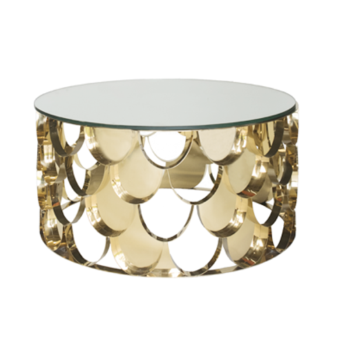 Rio Gold Coffee Table