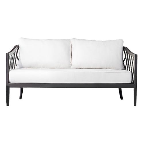 Black Regency Lounge Sofa
