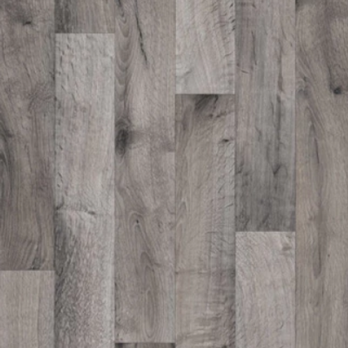 Grey Wood Flex Floor