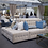 Thumbnail: Tufted Velvet Banquette in Taupe