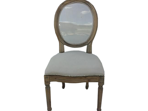 Tess Oval Back Chair