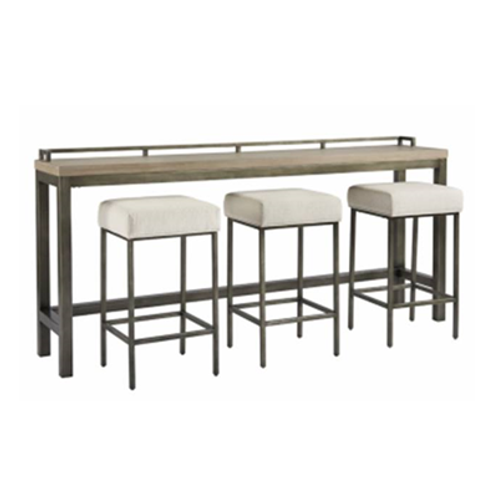 Midtown Console Table with Stools