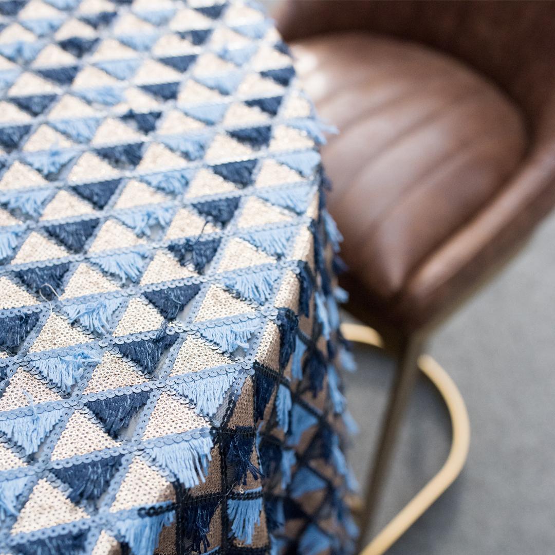 Sequin Fringe Linens