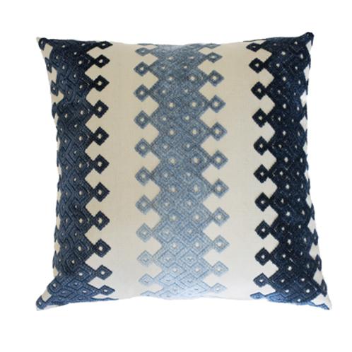 Scad Blue Pillow