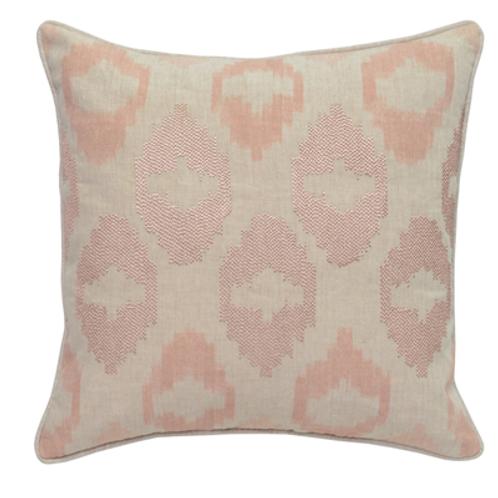 Beaded Mira Blush Pillow