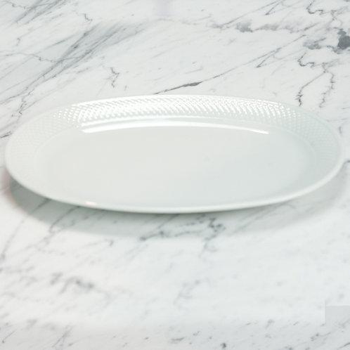 Premium Basketweave Medium Platter