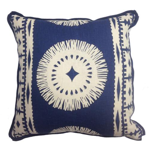 Navy Aztec Pillow
