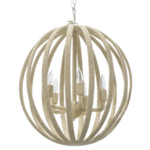Madera Coco Chandelier