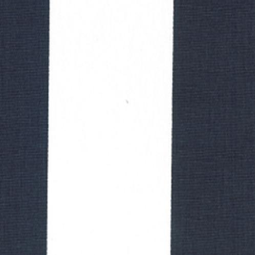 Navy & White Wide Stripe